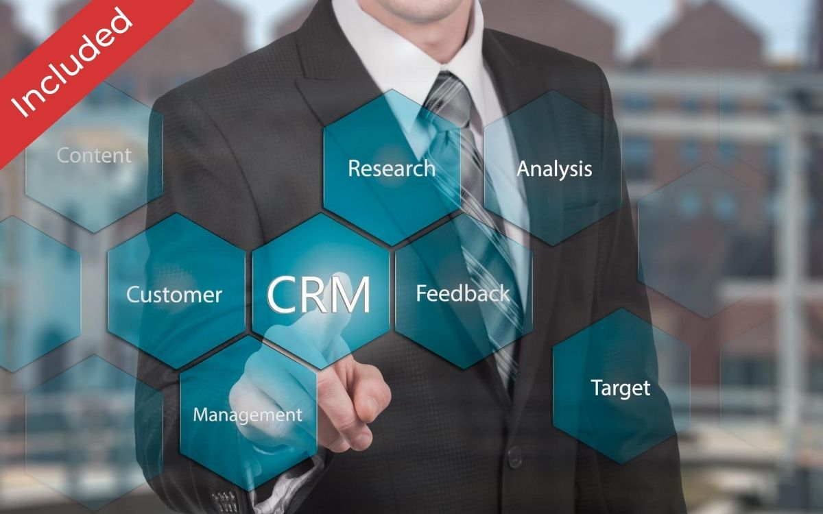 CRM Included, Take Control of Your Business