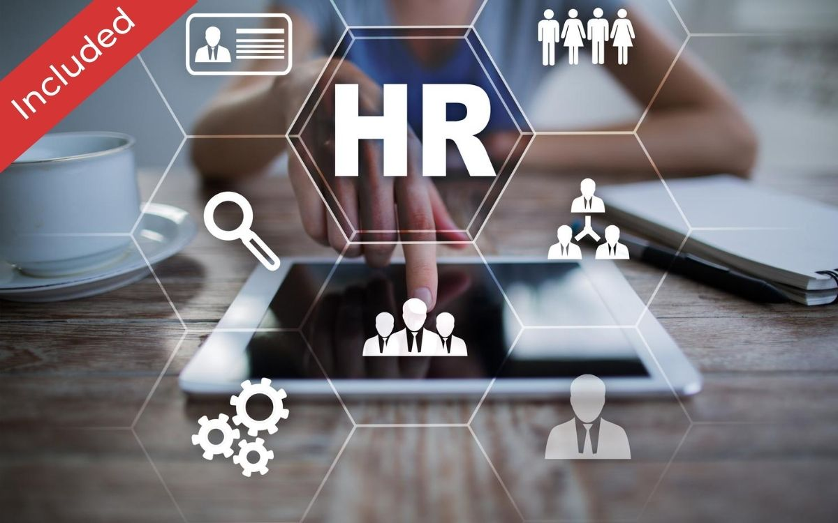 HR Management platform  is included in this package