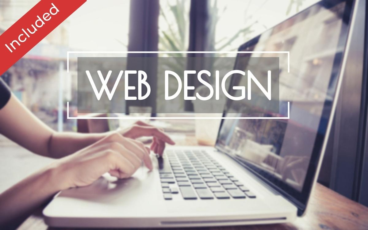 Website design is included in the package